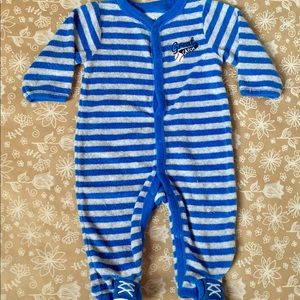 "Carter's Terry cloth ""Great Catch"" Bodysuit"
